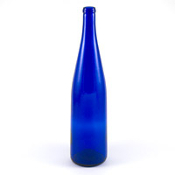 750 ml Cobalt Blue (Reisling Style) Bottle Case of 12