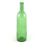 750 ml Emerald Green Bordeaux Bottle, Case of 12