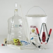 Fine Wine Equipment Kit with 6 Gallon PET Carboy