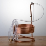 Copper Immersion Wort Chiller 25′