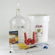 Gold Complete Beer Equipment kit w/5 gallon PET Carboy