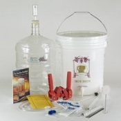 Gold Complete BEER Equipment Kit w/6 gallon PET Carboy