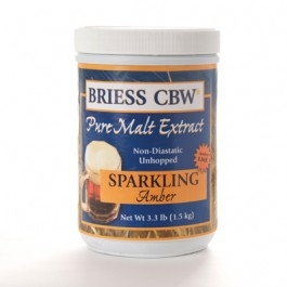 Briess Sparkling Amber 3.3 lb Can
